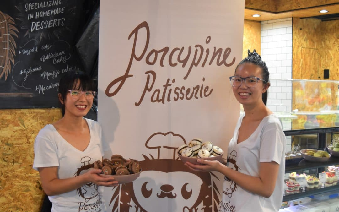 Welcome our new Producer in Residence… Porcupine Patisserie