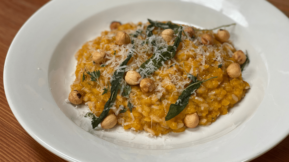 Sprout at Home: Pumpkin & Hazelnut Risotto