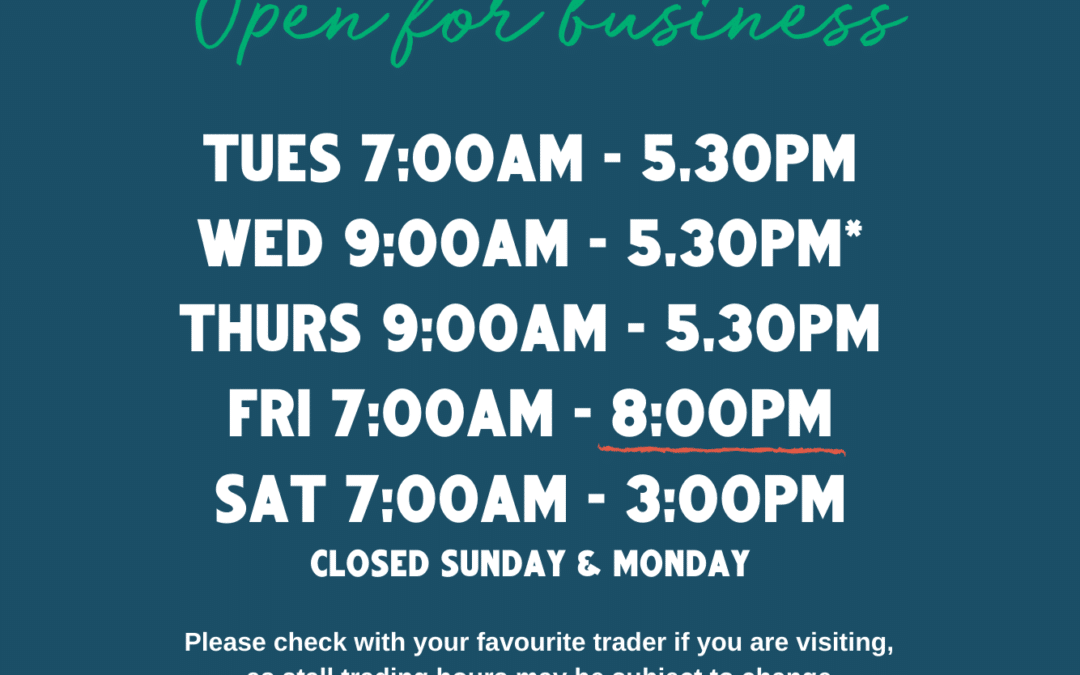 Trading Hours Update